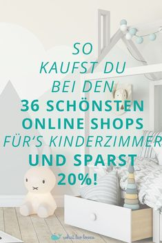 Kinderzimmer Shopping Guide 2018 How to make your dream nursery beautiful and save money. Find out here how to do it with the Nursery Shopping Guide! Baby Room Decor, Nursery Room, Girl Nursery, Parents Room, Kids Room, Baby Zimmer, Baby Nursery Neutral, Little Girl Rooms, Happy Baby