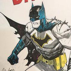 Rebirth Batman Dan Mora