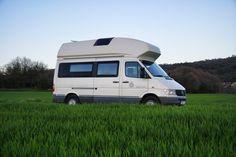 Mb james cook rent a campervan in Narcelona