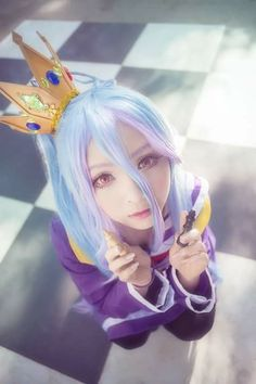 Shiro Cosplay  No Game No Life