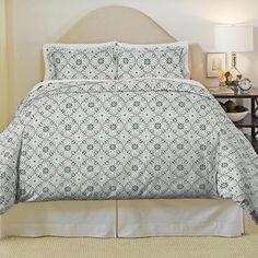 Pointehaven Ankara Heavy Weight Cotton Flannel 3-piece Duvet Set   Overstock.com Shopping - The Best Deals on Duvet Covers