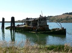 The 'Mary D Hume', Gold Beach - Highway 101 Oregon