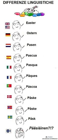 Learn some finnish. I can verify this, I'm a finn and I (really) speak this language ; Very Funny Memes, Funny Facts, Words In Different Languages, Learn Finnish, Finnish Words, Finnish Language, Rage Faces, Funny Photos, Hilarious
