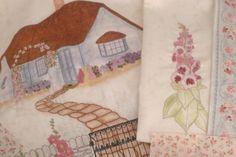 Um tamanho Quilt Inglês Country Garden Rainha