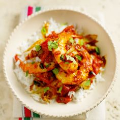 This spicy prawns recipe comes from Morocco. M'hammar is one of the four basic flavour combinations of Moroccan cuisine http://www.food-recipes.me/spicy-prawns/