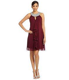Decode 1.8 Collared Halter Dress