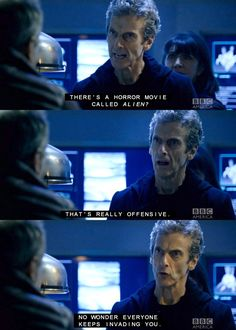 Alien horror movie Doctor Who Last Christmas