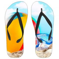 """Our """"Beach Ball Fun"""" Kids Flip-Flops are high quality and extremely durable. Made of  100% hypoallergenic material, you will never experience skin irritation or skin discoloration."""