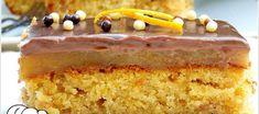 ΚΟΛΑΣΜΕΝΗ ΠΟΡΤΟΚΑΛΟΠΑΣΤΑ!!! Sweets Cake, Vanilla Cake, Desserts, Recipes, Food, Cakes, Tailgate Desserts, Deserts, Cake Makers