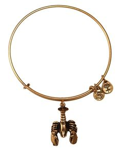 Alex and Ani Lobster Expandable Wire Bracelet