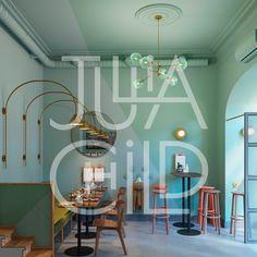 """다음 @Behance 프로젝트 확인: """"Julia Child Bistro"""" https://www.behance.net/gallery/41854951/Julia-Child-Bistro"""