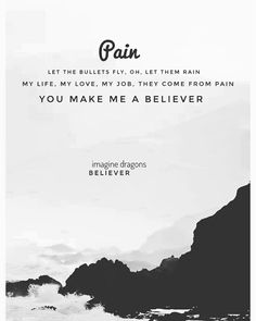 Imagine Dragons Believer Imagine Dragons Lyrics Imagine Dragons Quotes Believer Imagine Dragons
