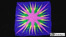 "Production Hanky Star Burst (36"""" x 36"""") by Mr. Magic - Trick"