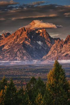 ** Veiled Tetons.I want to go see this place one day. Please check out my website Thanks.  www.photopix.co.nz