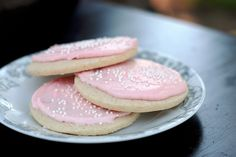 Delish: Best EVER Gluten Free Soft Iced Sugar Cookies!