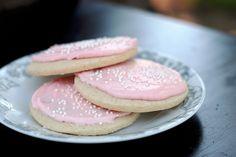 Delish: Best EVER Gluten Free Soft Iced Sugar Cookies!