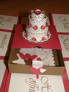 Marions Bastelstübchen: Explosionsbox zur Hochzeit