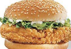 http://www.cukzy.com/zinger-chicken-burger-recipe/   Zinger Burger Recipe   Easy Burger Recipes   Chicken Burger Recipes     Cukzy