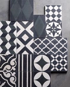 For a big spring re-decoration, change the floor to the hand made moroccan tiles. Patterned floors are one of the most popular trends in 2017!