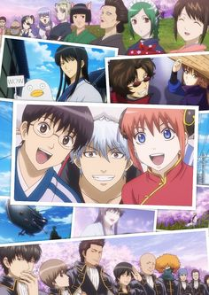 Find images and videos about cute, anime and kawaii on We Heart It - the app to get lost in what you love. Manga Anime, All Anime, Anime Love, Anime Guys, Anime Art, Samurai, Gintama Funny, Gintama Wallpaper, Comedy Anime