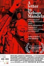 Venerdì 17 ottobre  ore 20.00  Domenica 19 ottobre  ore 17.45 NELSON MANDELA - THE MITH AND ME (Sudafrica,Germania 2014 Doc - 84min - v.o.sott.ita)  Lettera aperta a Nelson Mandela, in cui si esamina in modo sobrio e demistificante la figura del leader e il suo ruolo nelle riforme sudafricane degli anni Novanta. Allo sguardo personale del regista si aggiungono varie interviste a politici, attivisti e intellettuali, per mettere in discussione gli ideali di libertà, riconciliazione e perdono.