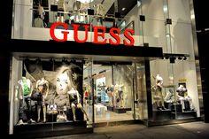 Guess Queen St West window display Toronto 04
