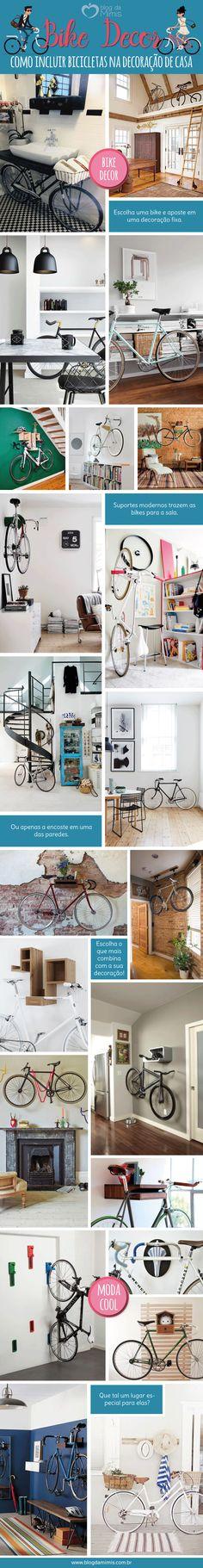 Bike decor: como incluir bicicletas na decoração da casa - Blog da Mimis…