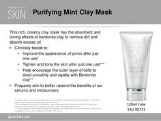 If you want to try a clay mask that will give you great results visit my website…