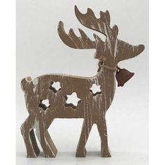 Dekorácia Woodeco 65282, Jelenček, 12x15 cm, bal. 5 ks Moose Art, Animals, Animales, Animaux, Animal, Animais