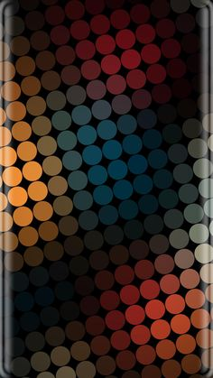 Colorful Dots Abstract Wallpaper