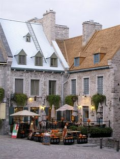 In the heart of Vieux Quebec, Quebec City
