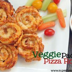 pizza veggie rolls