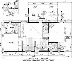 Homes Direct Modular Homes - Model GO621FT - Floorplan