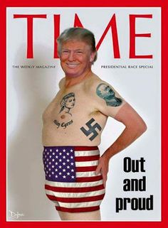 #trump #drumf #hitler #hate #comingout