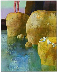 La peau et la pierre by Leonardo Cremonini