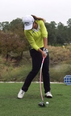 Lydia Ko - Hands at impact Our Residential Golf Lessons are for beginners, Intermediate & advanced. Our PGA professionals teach all our courses in an incredibly easy way to learn and offer lasting results at Golf School GB www.residentialgolflessons.com