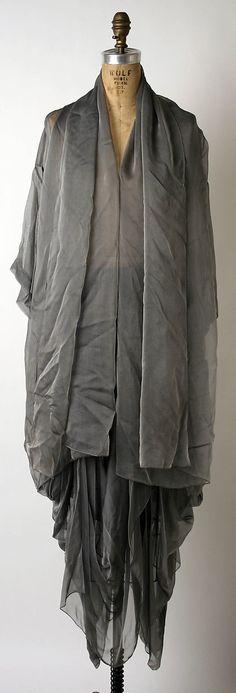 Ensemble Romeo Gigli (Italian, born 1949) Date: ca. 1988 Culture: Italian Medium: a,b) silk