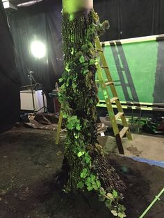 This is a great way to make cool trees for a theatre production or a more mythical type film. I wouldn't recommend it for close up shots in a film though unless...