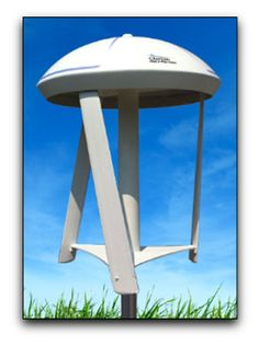 The SmartBox Wind Turbine installs on a rooftop or pole, plugs directly into a 120 volt outlet, and produces 40 kilowatt hours a month of energy output.