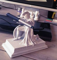Neat idea so you never lose your favorite pen! Find the best resin at Ultimate 3D Printing Store. 3d Printer Designs, 3d Printer Projects, 3d Projects, Impression 3d, Imprimente 3d, 3d Scanner, 3d Printing Diy, 3d Printed Objects, Pen Holders