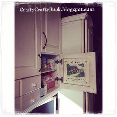 Crafty Crafty Book: Decoupage cupboards door