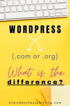 WordPress.com or WordPress.org. Which is better for your blog? Learn why starting a self-hosted blog is the best option for making money online. Make money from home. Self-hosting. WordPress for beginners. How to start a blog. Blogging for beginners. Business Tips, Online Business, Creative Business, Business Women, Make Money Online, How To Make Money, Wordpress Org, Affiliate Marketing, Content Marketing