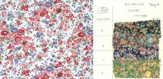 We delve into our #Archive and take a closer look at some of the Classic #LibertyPrints #LibertyCraftBlog #Tatum print