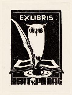 [Bert van Praag] Ex Libris