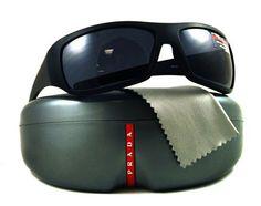 PRADA Sunglasses Grey and Black