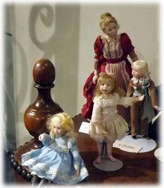 Miniature Doll Exhibition 2012 - Jane Davies Dolls