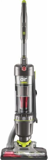 Hoover - Air Steerable Bagless Upright Vacuum - Silver/Green - Front Zoom