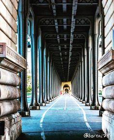 Le Pont de Bir-Hakeim La piste cyclable chemine sous le viaduc. #paris #skyporn #sky #Pics #Pictures #beautiful #Love #Instagood #Travel #Look #Like #follow4follow #followme #nice #all_shots #architecture #View #landscape #Awesome #igersparis #like4like #amazing #instamood #style #me #instadaily #tbt #Beauty #follow #bridge by barthi75