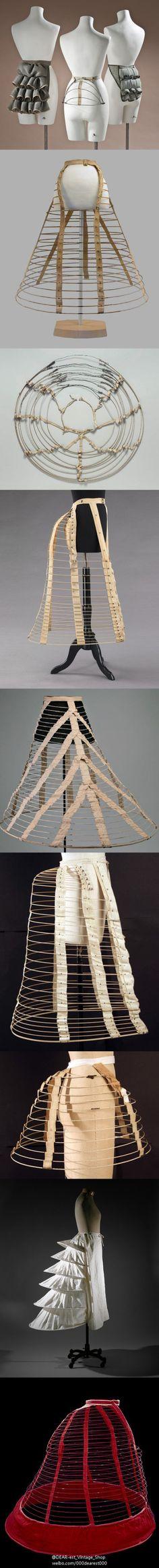 1780年代,一种叫托尔纽尔的臀垫取代裙撑,和17世纪末一样,后臀部又一…