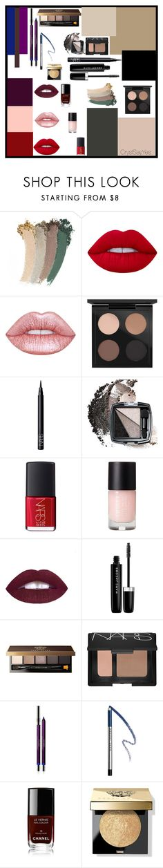 """Relooking DemiJournée Beauté ""Colorama Make Up"""" by crystelpi on Polyvore featuring beauté, Gucci, Lime Crime, MAC Cosmetics, NARS Cosmetics, Avon, Marc Jacobs, Bobbi Brown Cosmetics, By Terry et Chanel"